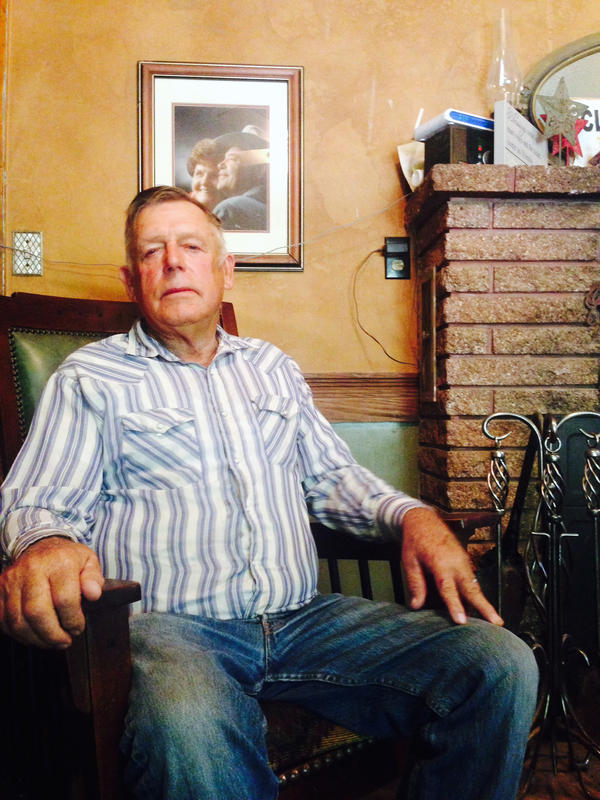 Bundy at his home outside Bunkerville, Nev., in 2014, a few months after the standoff with federal agents.