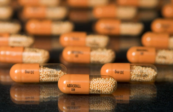 Adderall is a stimulant used to treat attention deficit hyperactivity disorder, or ADHD.