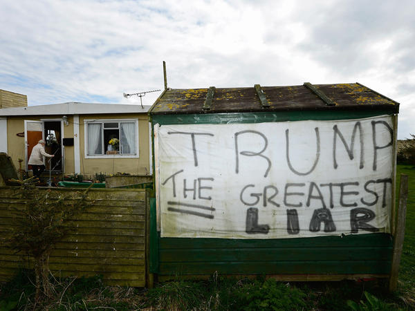Anti-Trump Voices Grow Louder In Scotland After Development Rift ...