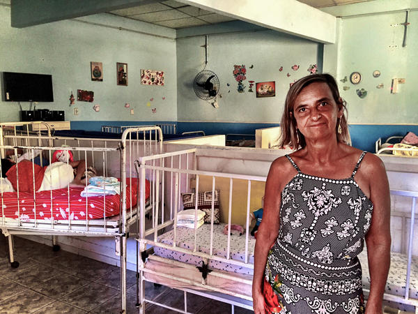 Psychologist Vera Lucia Giacometti works at this facility for children and young adults with severe disabilities. As the babies born with microcephaly turn 1 or 2, she believes some parents may feel overwhelmed and put their children in a state institution.