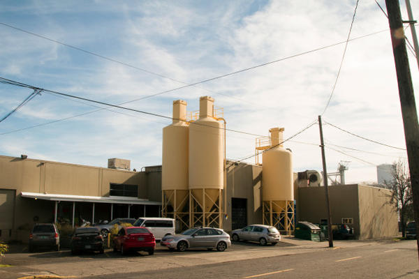 <p>Bullseye Glass in Southeast Portland is one of two glass companies that has voluntarily stopped using candium in and arsenic in its manufacturing of colored glasses.</p>