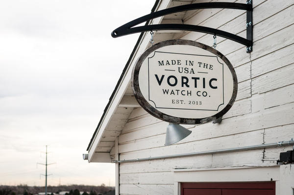 The workshop in Fort Collins, Colorado. (Courtesy Vortic Watch Company)