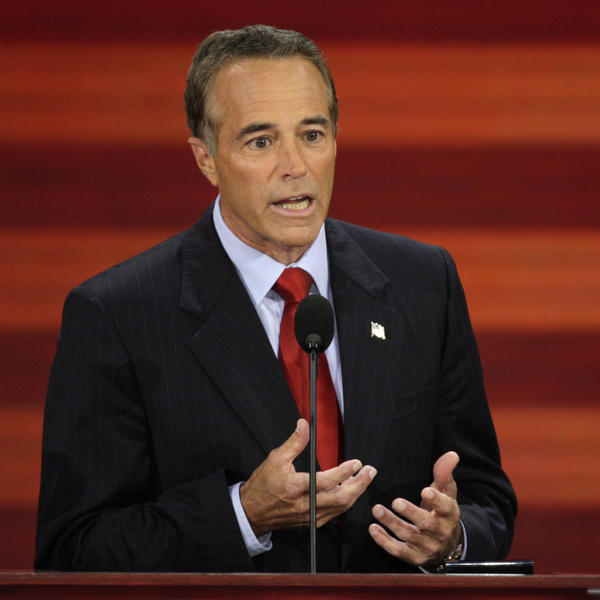 """In a statement, Rep. Chris Collins of New York said Trump has the """"guts and the fortitude"""" to be president."""
