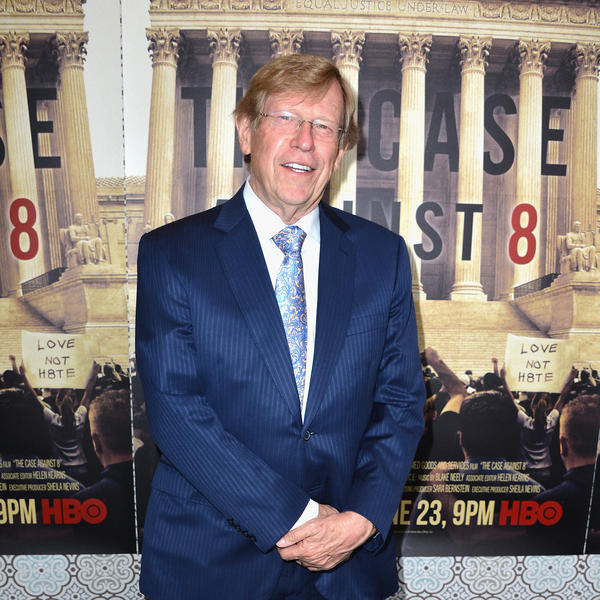 Lawyer Ted Olson, shown at the Los Angeles premiere of HBO's <em>The Case Against 8 </em>in 2014, is representing Apple in its legal faceoff with federal investigators.