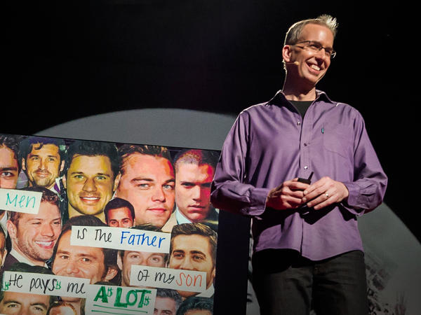 Since November 2004, PostSecret founder Frank Warren has received more than 500,000 postcards with secrets written on them.