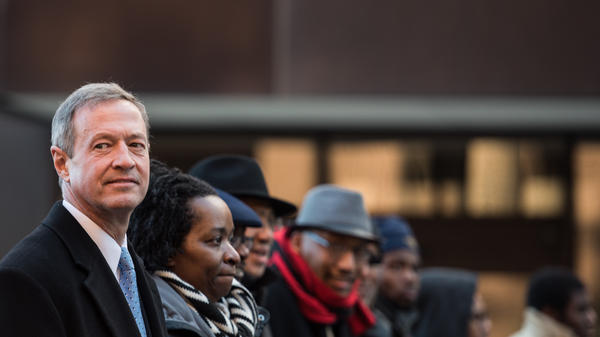 Martin O'Malley marched in the King Day at the Dome parade in Columbia, S.C., earlier this month.