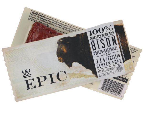 Epic, founded in Austin, Texas, makes organic meat bars filled with nuts and dried fruit. It's a rising star in the beef jerky market and was recently acquired by General Mills.