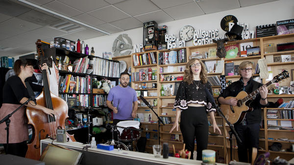 Tiny Desk Concert with Lake Street Dive.