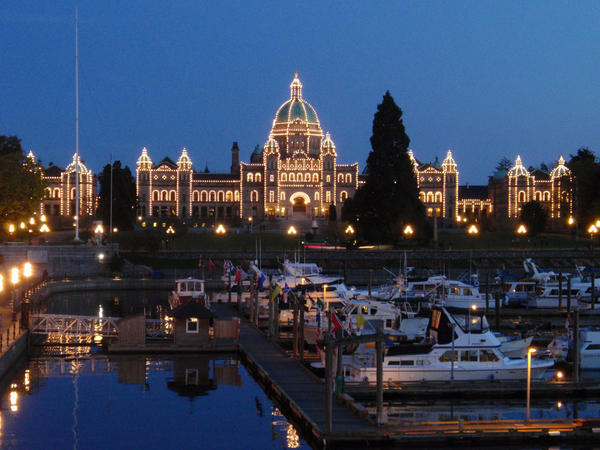 File photo. British Columbia's Parliament overlooks Victoria's Inner Harbour