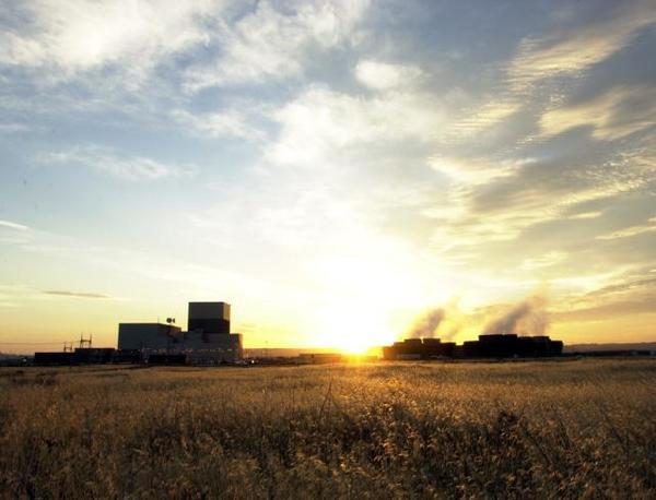 File photo of the Columbia Generating Station near Richland, Washington.