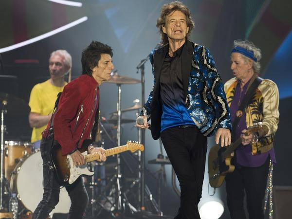 British rockers The Rolling Stones in concert last week in Sao Paulo.