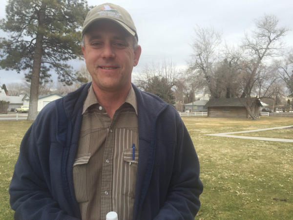 <p>Chad Karges is the manager of the Malheur National Wildlife Refuge. He's worked at the refuge for 16 years.</p>