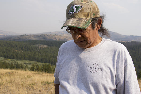 John Murray is the historic preservation officer of the Blackfeet tribe.