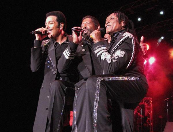 "The Commodores J.D. Nicholas, William King and Walter ""Clyde"" Orange. (http://www.commodoreslive.com/)"