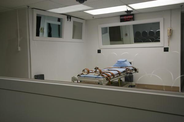 Florida's execution chamber.