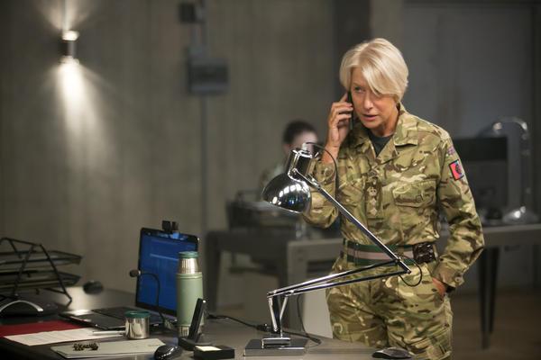 Helen Mirren stars as Col. Katherine Powell in Gavin Hood's <em>Eye in the Sky</em>.