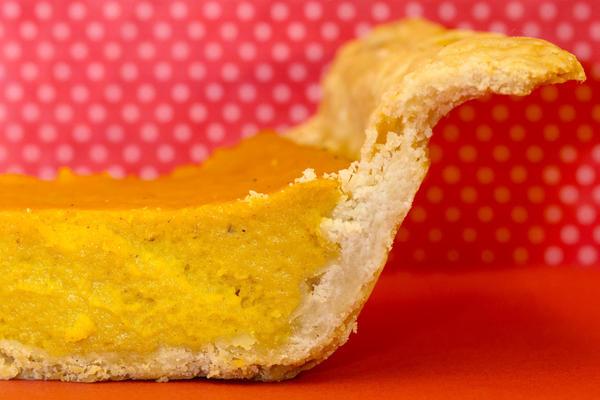 A silky custard and a crispy crust: perfection.