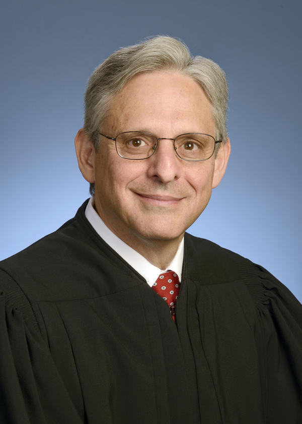 Chief Judge Merrick Garland in 2013.