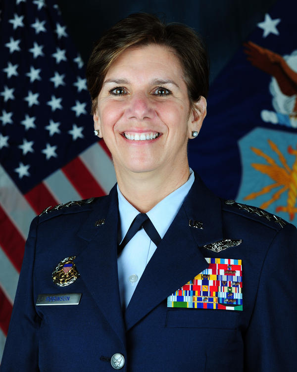 Gen. Lori J. Robinson is the commander of Pacific Air Forces, which is responsible for Air Force activities in Japan, Korea, Hawaii, Alaska and Guam, among other areas.