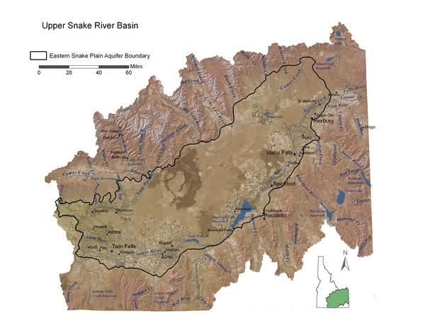 The Eastern Snake Plain Aquifer is where the biggest groundwater recharge project in the Northwest is now under way.