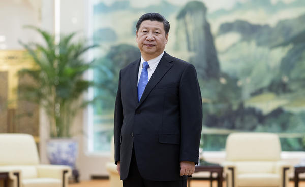 Chinese President Xi Jinping, photographed at The Great Hall Of The People in Beijing, is expected to get a second and final term at a Communist Party congress next year.