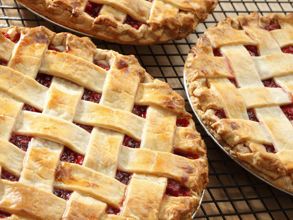 The foundation of a good pie starts with the crust.