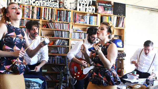 Lucius Tiny Desk Concert