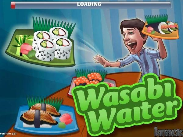 "Knack.it developed the video game ""Wasabi Waiter"" to show a job applicant's problem-solving skills."