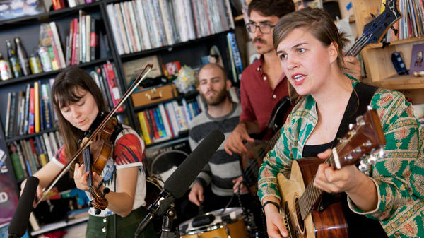 Tiny Desk Concert with Oh Pep!