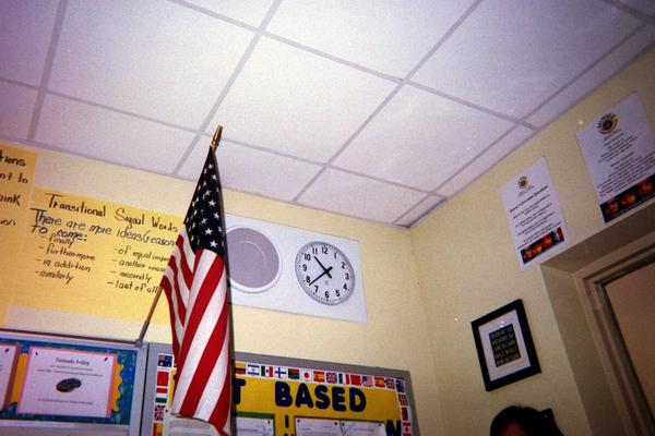 Student photos capture the details of Ms. D-B's classroom.