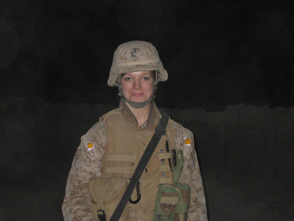 "Theresa Larson says she was a ""very good Marine"" in Iraq until she developed a severe eating disorder."