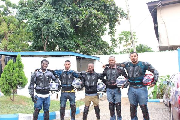 "The drivers for Metro Africa Xpress get a good salary — and a cool uniform. People say the outfits make the drivers look like ""RoboCop on the street."""