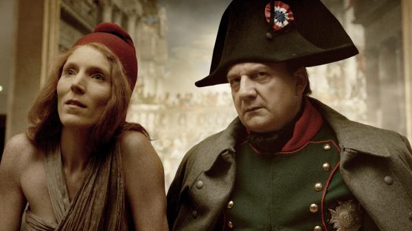 Johanna Korthals Altes and Vincent Nemeth in <em>Francofonia</em>.