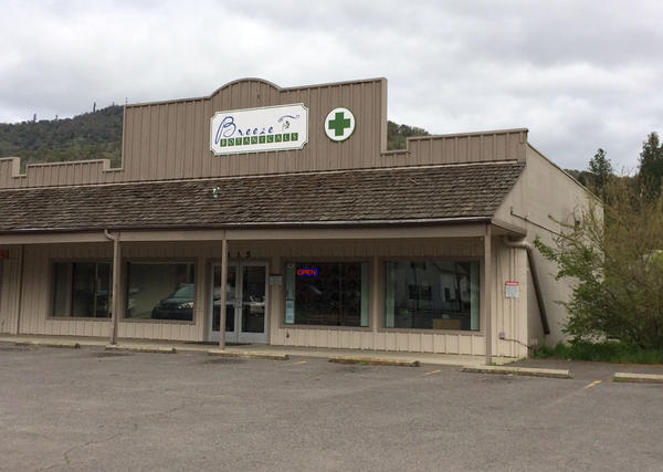 Brie Malarkey operates two marijuana dispensaries in southern Oregon, including Breeze Botanicals in Gold Hill.