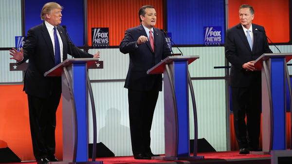 Three Republican candidates; a wide range of political beliefs. Could that be a problem come November?