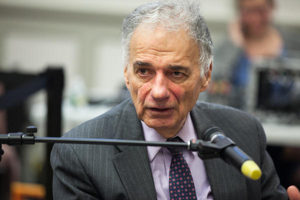 Ralph Nader spoke to WNPR at the American Museum of Tort Law in Winsted, Connecticut.