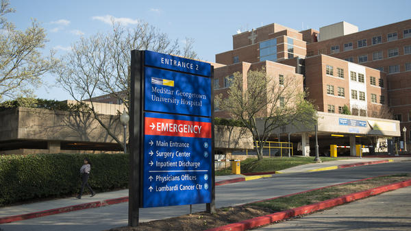 Hackers crippled computer systems at several MedStar hospitals, including the Georgetown University Hospital in Washington, D.C.
