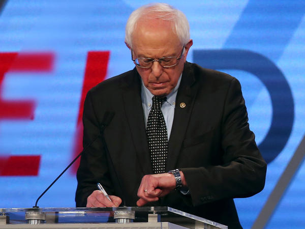 Bernie Sanders and Hillary Clinton have debated eight times, but with the big New York primary looming, they struggled to agree on when and where the next matchup would be.