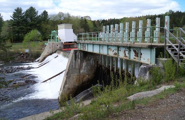 A dam on the Connecticut River near Canaan, Vt. and Stewartson, N.H. Gov. Peter Shumlin and top lawmakers are considering the purchase of a series of dams along the Connecticut and Deerfield rivers.