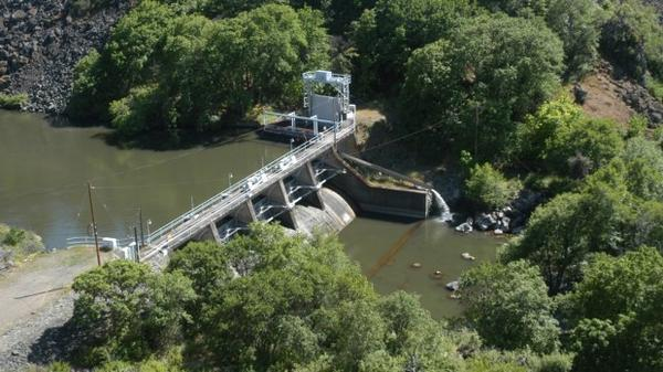 <p>Copco no. 2, one of four dams on the Klamath river targeted for removal.</p>