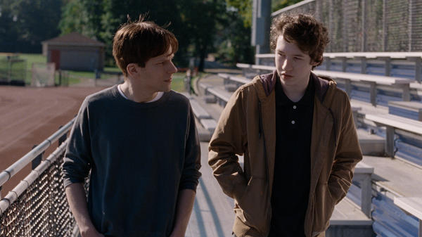 Jesse Eisenberg and Devin Druid are two sons processing grief in different ways in <em>Louder Than Bombs.</em>