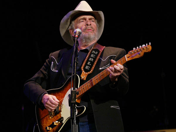 Merle Haggard, performing at the Ryman Auditorium in 2004 in Nashville, Tenn.