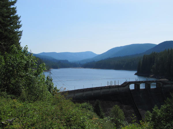 <p>The city of Portland has two drinking water reservoirs in the Bull Run watershed.</p>