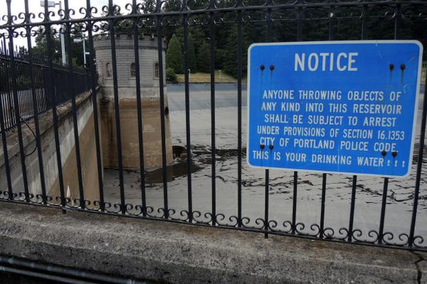 <p>Portland Water Bureau's Mt. Tabor Reservoir No. 5</p>