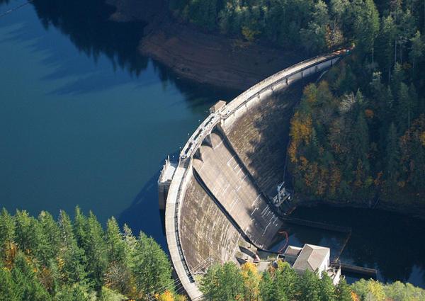 <p>Bull Run Dam</p>