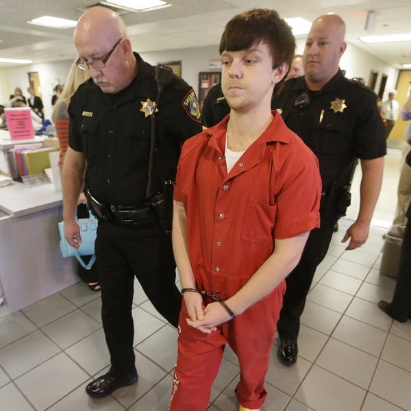 Ethan Couch, pictured here in February, will spend nearly two years in jail.