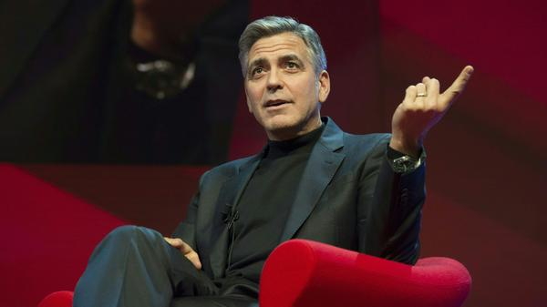 George Clooney hosted two high-dollar fundraisers in support of Hillary Clinton this weekend.