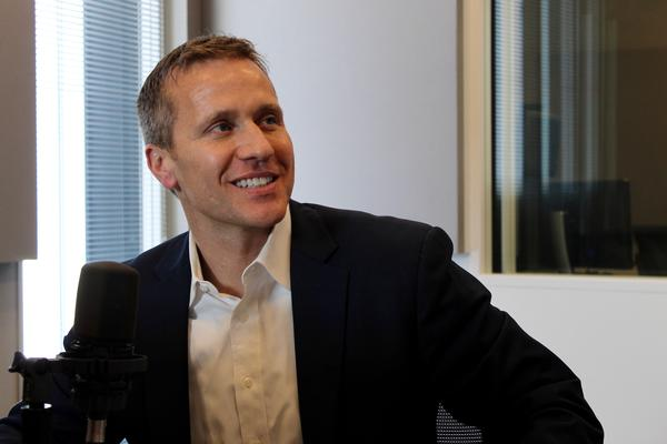 After his campaign didn't respond to a request for comment, GOP gubernatorial contender Eric Greitens said on Tuesday night he opposes SJR 39.