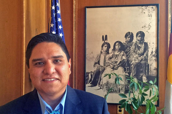 Ernest House Jr. Executive Director of the Colorado Commission of Indian Affairs.