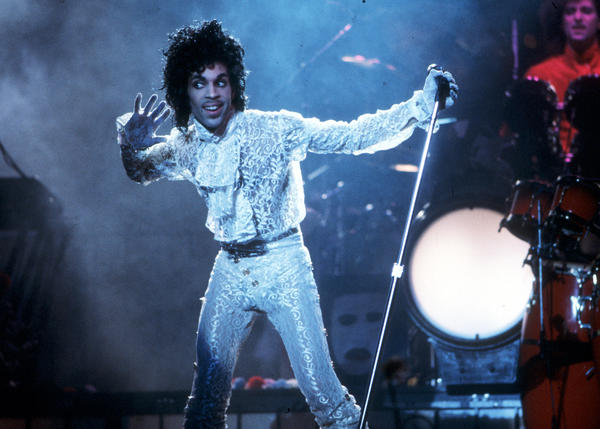 Prince performs at the Fabulous Forum in Inglewood, Calif., in 1985.